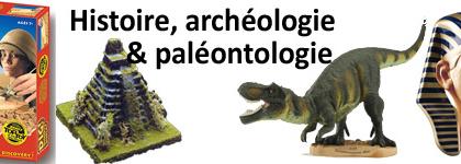 Archéologie, histoire et paléontologie
