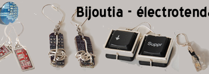 Bijoux électrorecyclés