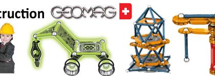 Géomag - Constructions magnétiques
