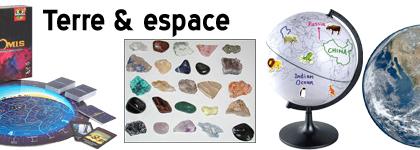 Matériel pédagogique - Terre & Espace