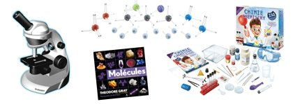 Chemistry and experiments kits