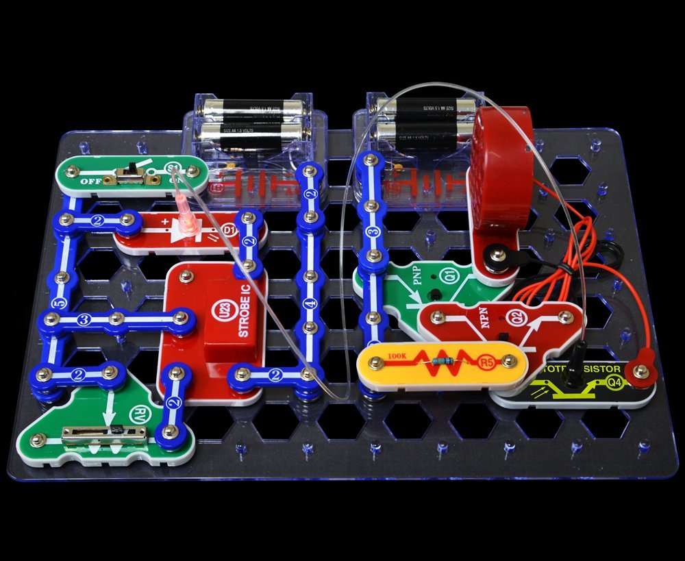 Snap Circuits Lights Funique Science Games Kits And Teaching Circuit Review
