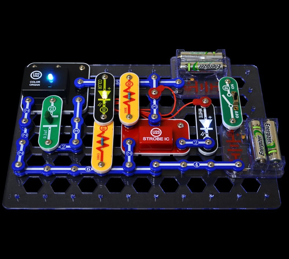 Snap Circuits Lights Funique Science Games Kits And Teaching On Circuit Material