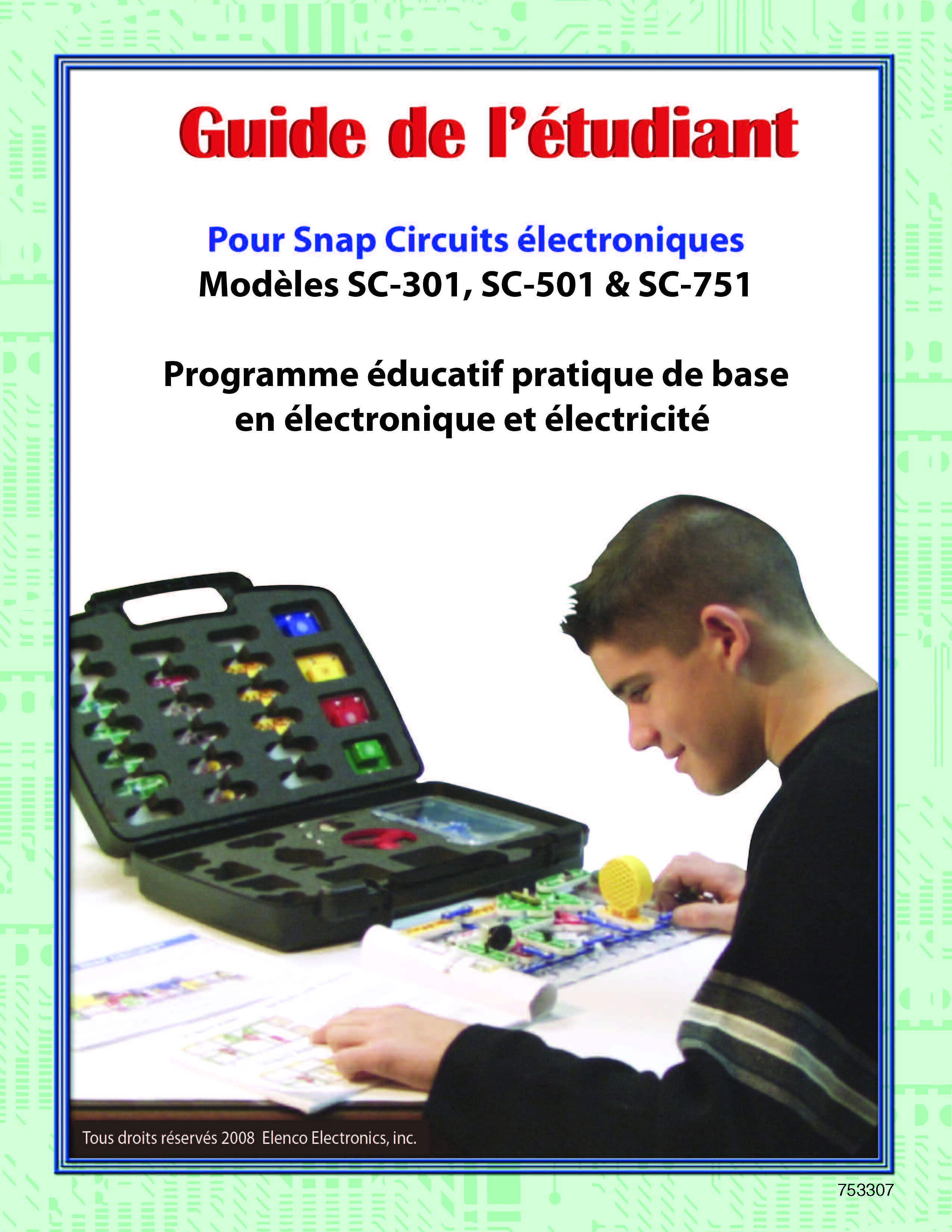 Snap Circuits Electricity Kits Buy Online Elenco Electronics Lights Pedagogical Guides