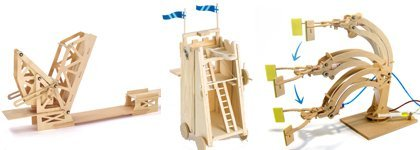 DIY Wooden Construction Kits