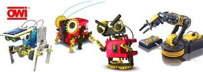 Robotique - Ensembles à construire