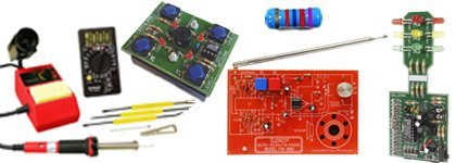 Electronics Kits with Soldering