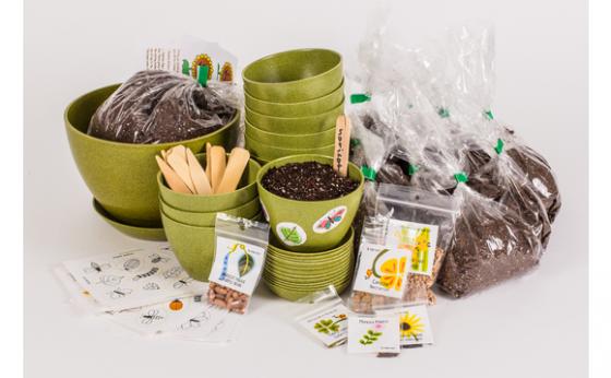 Ensemble de jardinage de groupe r utilisable funique for Boutique jardinage en ligne