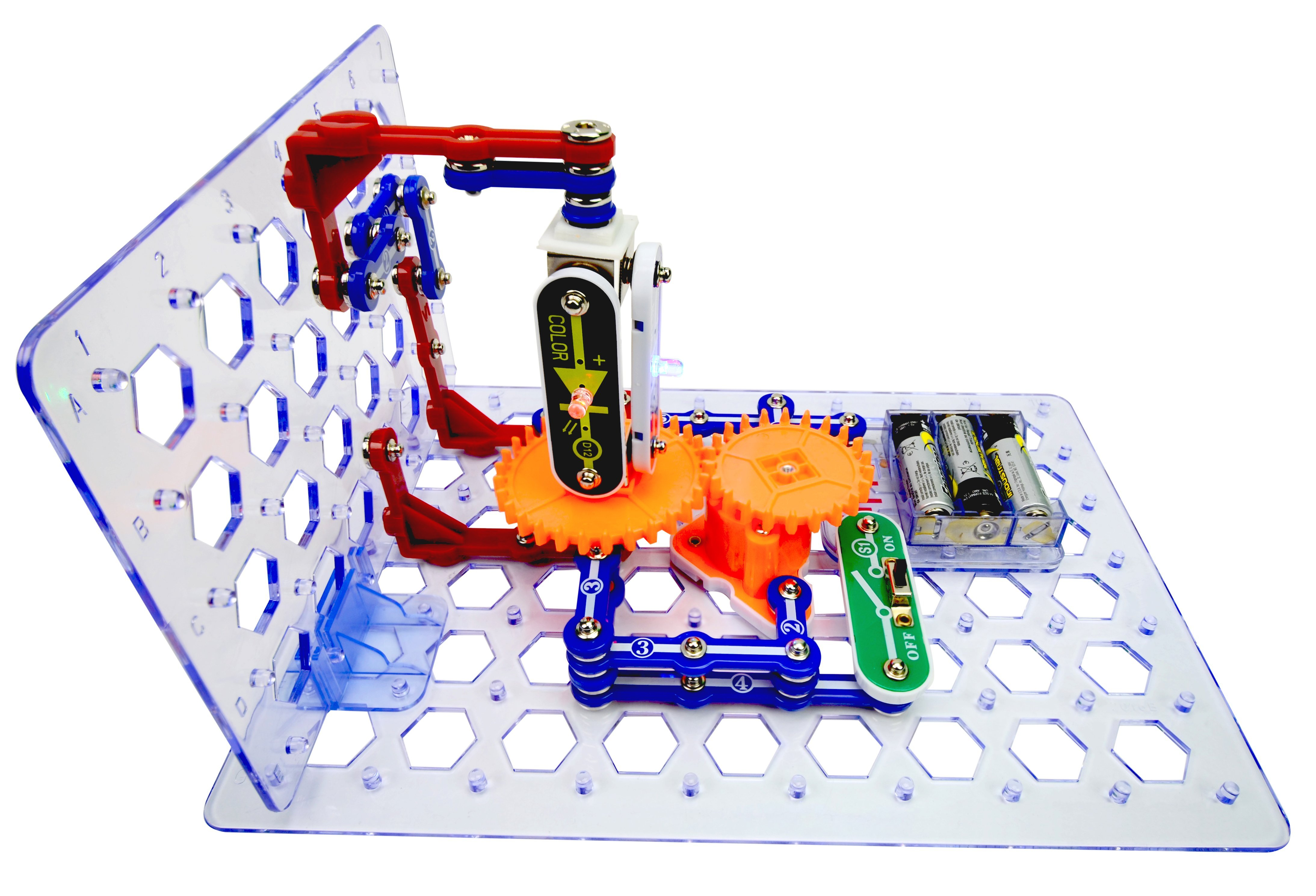 Snap Circuits 3d Meg Funique Science Games Kits And Teaching Electronic Circuit Construction