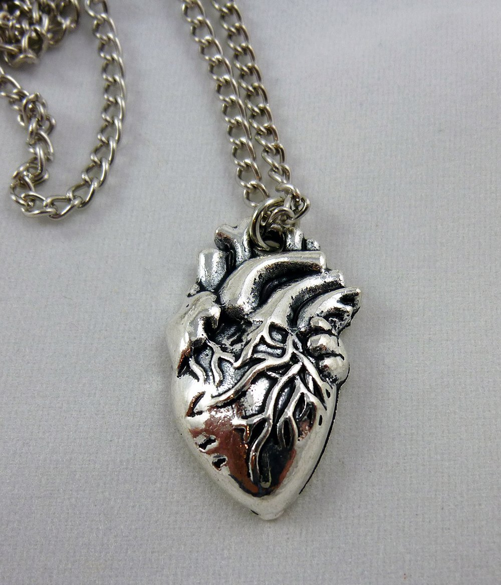 Anatomical heart pendant - Funique science games, kits and teaching ...