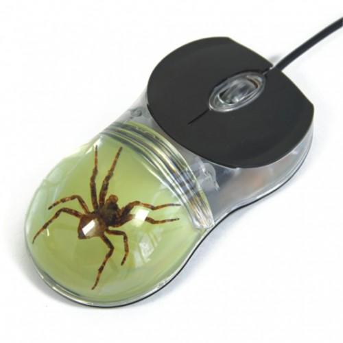 souris d 39 ordinateur avec arachnide funique boutique en ligne de jeux et mat riel p dagogique. Black Bedroom Furniture Sets. Home Design Ideas